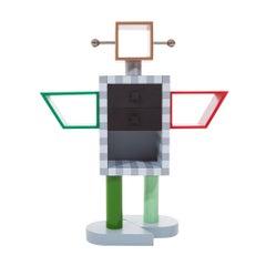 Ginza Wooden Robot by Umeda Masanori for Memphis Milano Collection