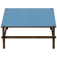Gio Blue Coffee Table by Gianfranco Frattini
