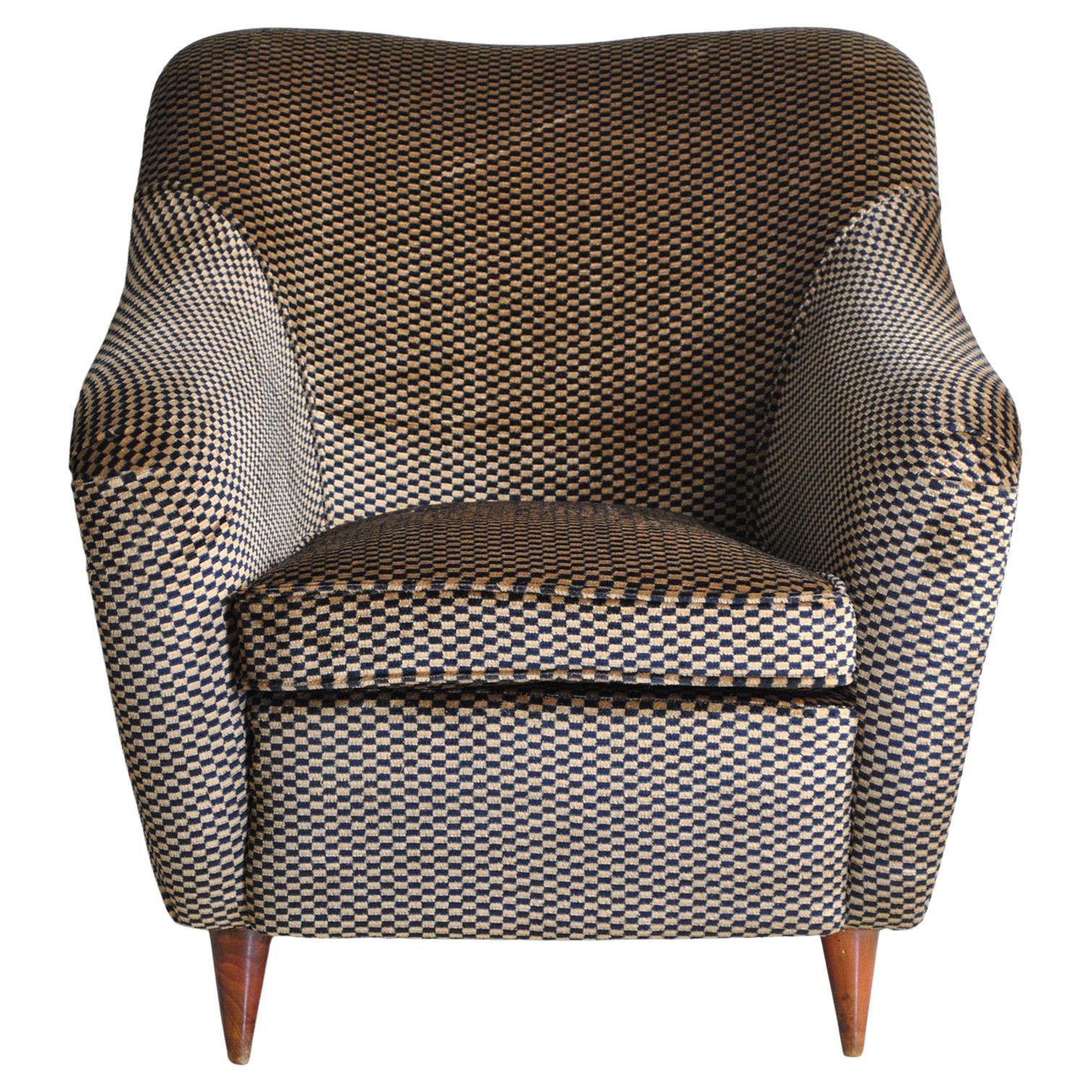 Gio Ponti 40s Casa e Giardino armchair