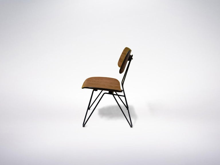 Gio Ponti and Gastone Rinaldi for RIMA, Set of 2 Model DU10 chairs, 1951  Literature : Gastone Rinaldi Designer alla RIMA, by Giuseppe and Jacopo Drago, 2015.