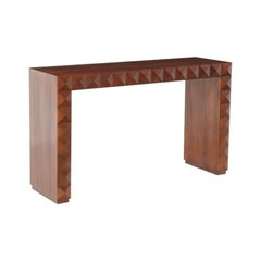 Gio Ponti and Luigi Scremin Console Table in Walnut, 1940s, Italy