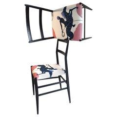 "Gio Ponti and Vincent Darré Pair of ""Superleggera"" Chairs, Cassina Milano, 1957"