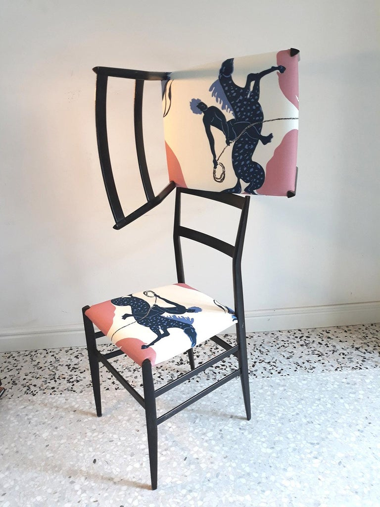 Mid-20th Century Gio Ponti and Vincent Darré  Pair