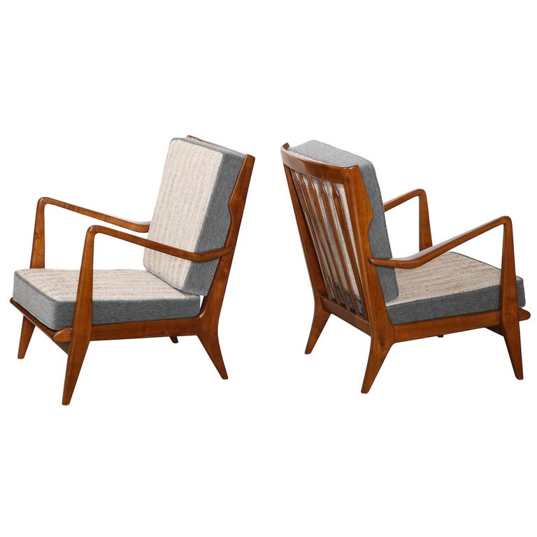 Gio Ponti Armchairs For Sale