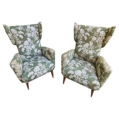 Gio Ponti Armchairs for Hotel Royal by Dassi