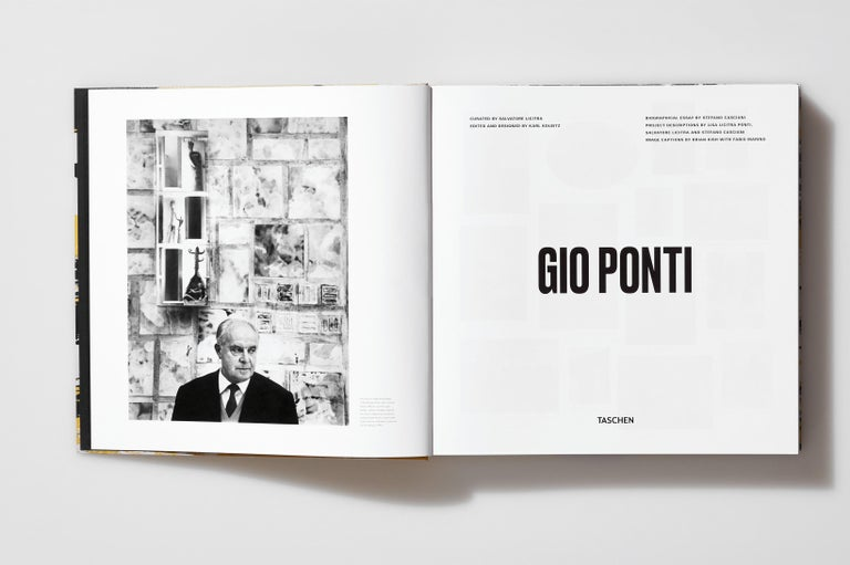 Gio Ponti, Art Edition, the Planchart Coffee Table and a Set of Four Art Prints For Sale 2
