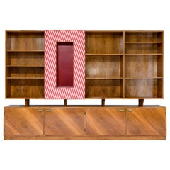 Gio Ponti Bookcases, Unique Piece - Italy, circa 1940