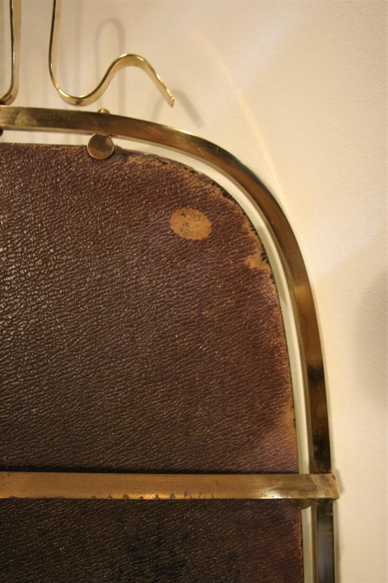 Gio Ponti Brass Mirror, 1930s For Sale 1
