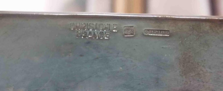Silver Plate Gio Ponti by Christofle Vase/ Sculpture For Sale