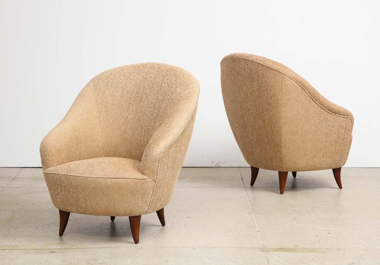 Mid-Century Modern Gio Ponti Chairs For Sale