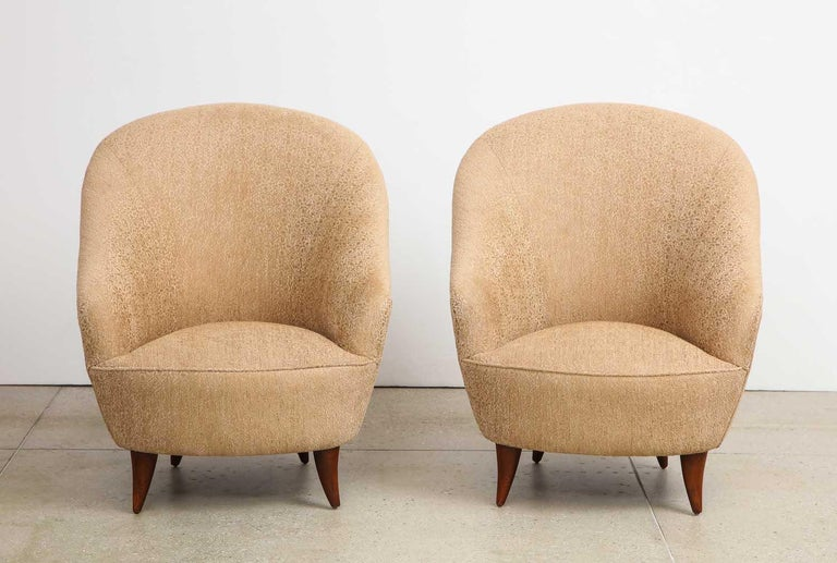 Gio Ponti Chairs In Good Condition For Sale In New York, NY