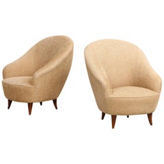 Gio Ponti Gold Chairs