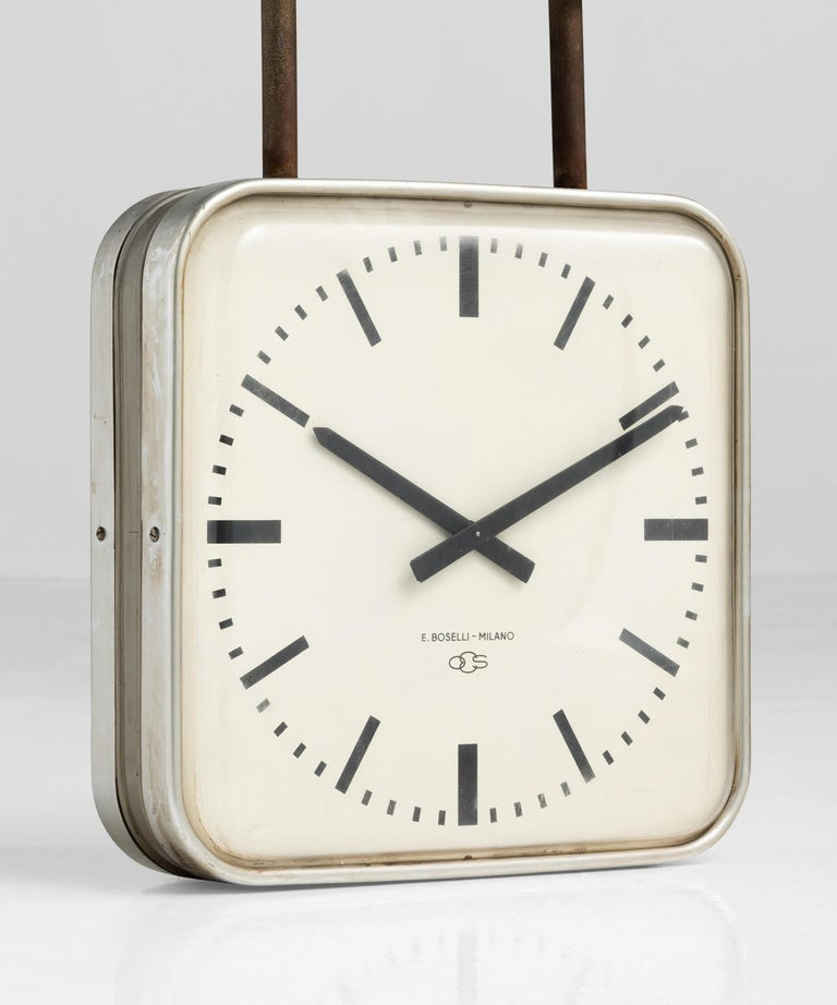 Gio Ponti Clock, Italy circa 1960.