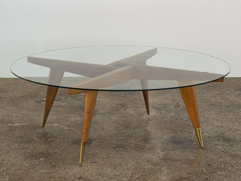 Mid-Century Modern Gio Ponti Cocktail Table For Sale