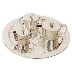 Gio Ponti Coffee Set for the Historical Sant Ambroeus Coffee House, Italy, 1940s