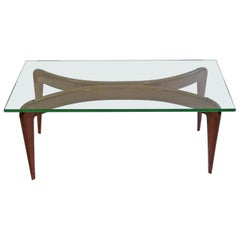 Gio Ponti Coffee Table for Fontana Arte, Italy, 1950s