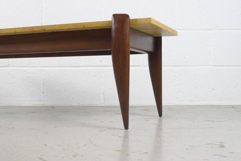 Mid-Century Modern Gio Ponti Coffee Table for Singer and Sons, USA For Sale