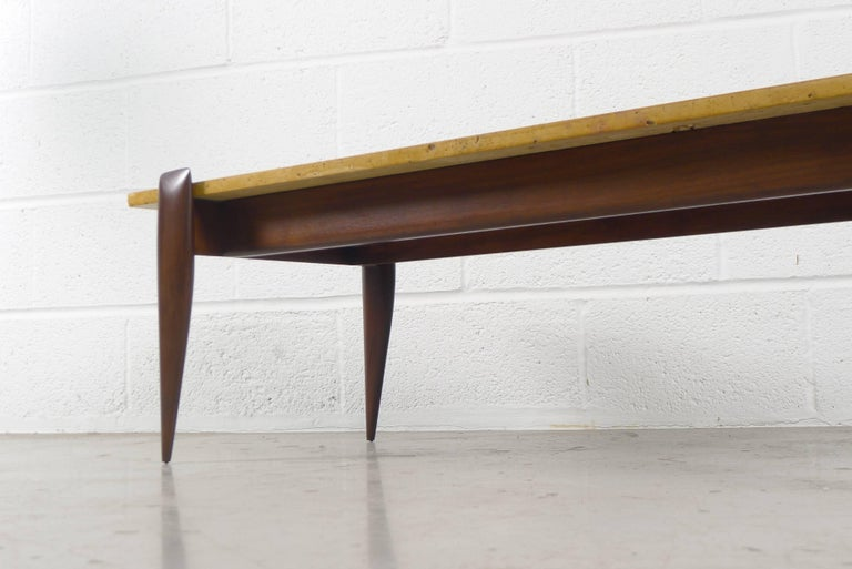 Italian Gio Ponti Coffee Table for Singer and Sons, USA For Sale