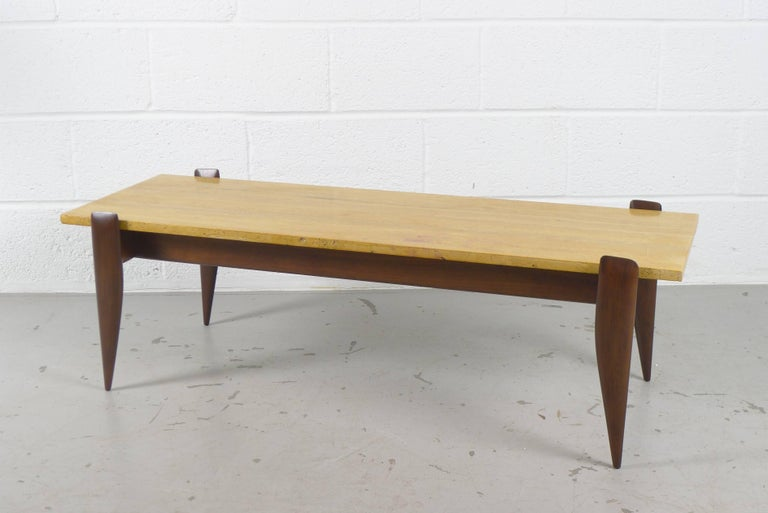 Gio Ponti Coffee Table for Singer and Sons, USA In Good Condition For Sale In Wargrave, Berkshire