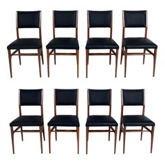 Gio Ponti Dining Chairs, Eight Available