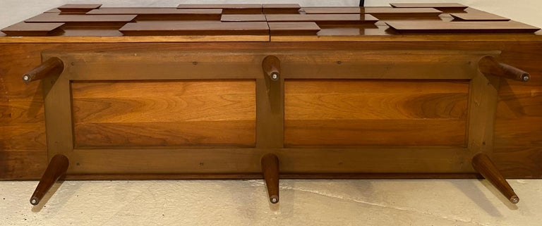 Gio Ponti Double Dresser Low Chest Signed M. Singer and Sons Model 2161 For Sale 8