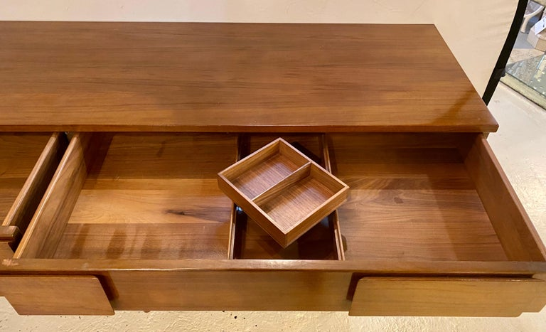 Gio Ponti Double Dresser Low Chest Signed M. Singer and Sons Model 2161 For Sale 11