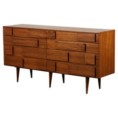 Gio Ponti Eight Drawer Dresser for Singer & Sons