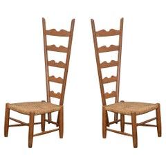 Gio Ponti Fireside Chairs