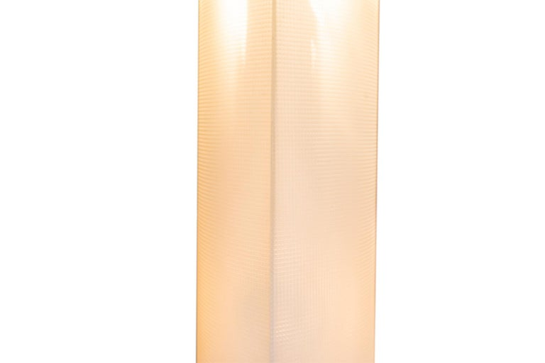 Mid-20th Century Gio Ponti, Floor Lamp, Model Pirellone, Italy, circa 1968 For Sale