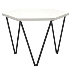 Gio Ponti for ISA Honeycomb Side Table