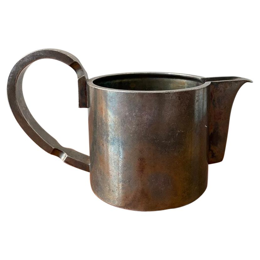 Gio Ponti for Krupp Berndorf Silverplated Pitcher