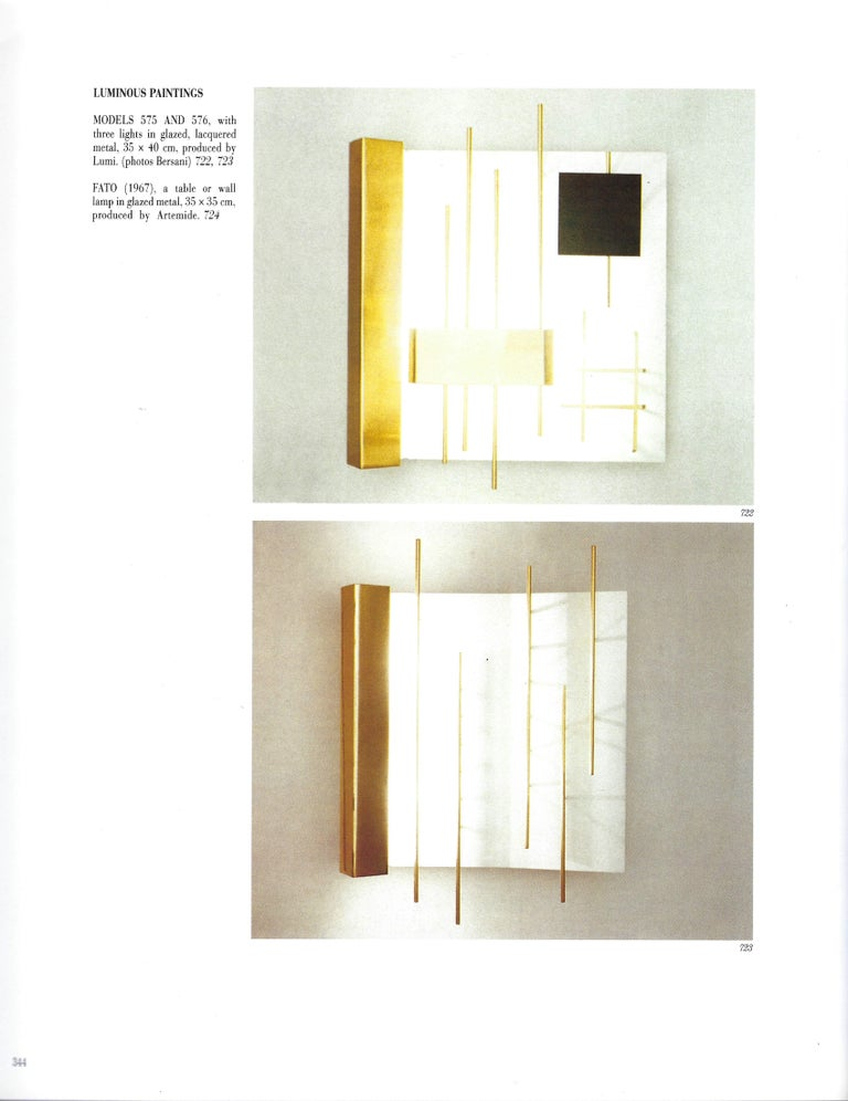 Gio Ponti for Lumi Pair of First Edition
