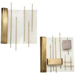 Gio Ponti for Lumi Pair of Sconces