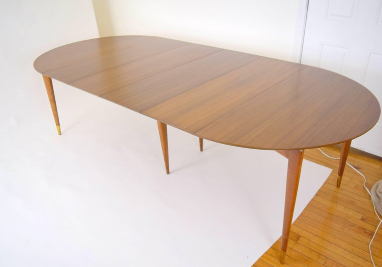 Gio Ponti for Singer and Sons Dining Table For Sale 4