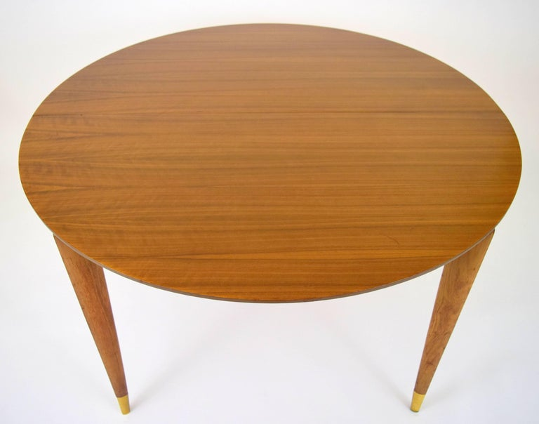 Mid-Century Modern Gio Ponti for Singer and Sons Dining Table For Sale