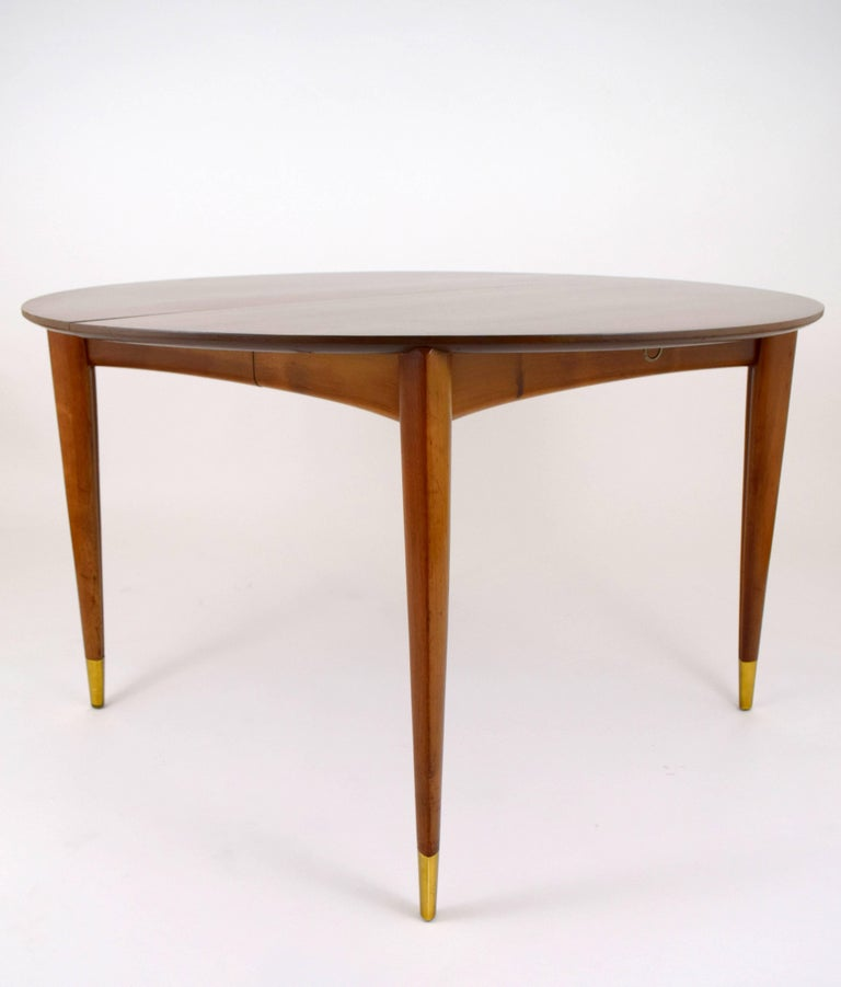 American Gio Ponti for Singer and Sons Dining Table For Sale
