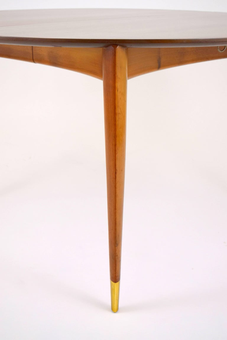 Mid-20th Century Gio Ponti for Singer and Sons Dining Table For Sale