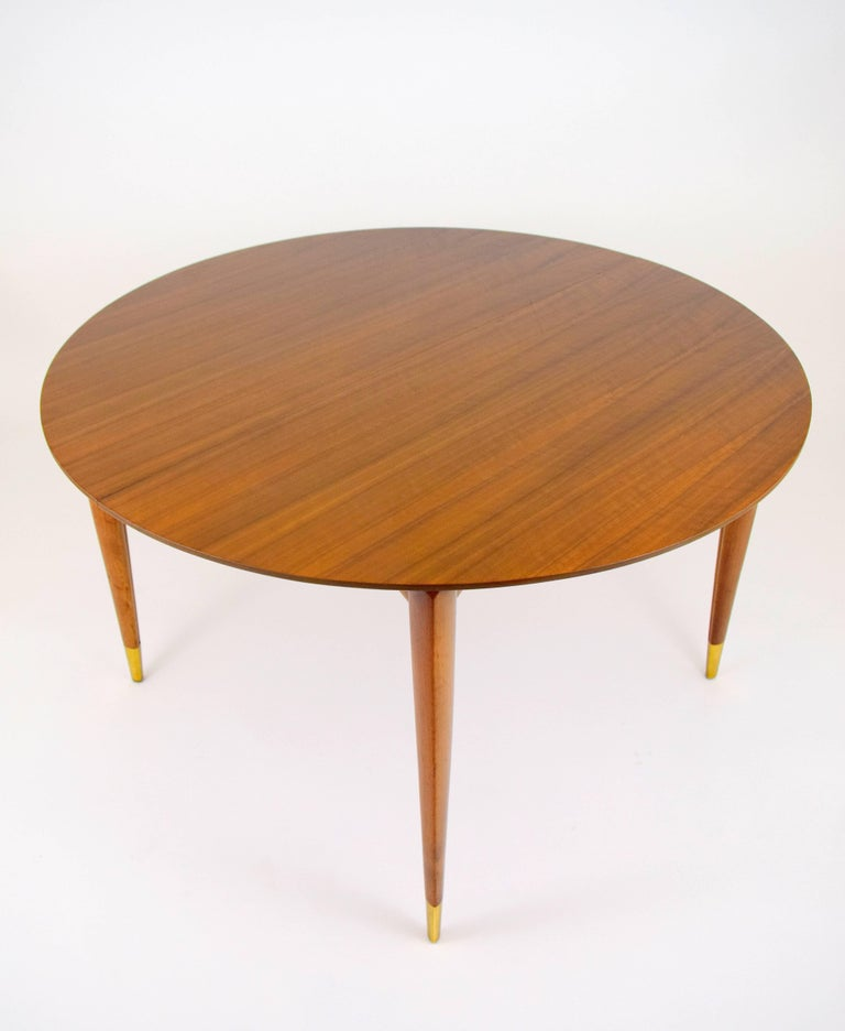 Gio Ponti for Singer and Sons Dining Table For Sale 1