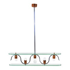 Gio Ponti in the Style Chandelier from the Late 50's