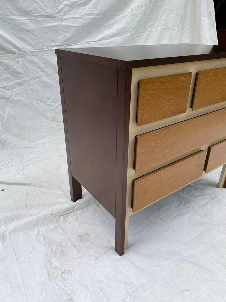 American Gio Ponti Inspired Dresser for Henredon Furniture For Sale