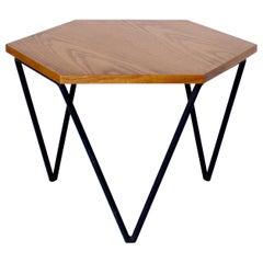 Gio Ponti Italian Coffee or Side Table by I.S.A. Italia circa 1950 in Oak Wood