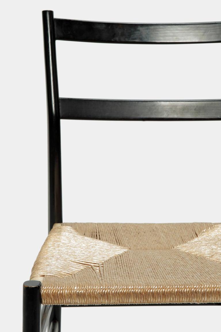 Gio Ponti Leggera Chair Cassina, 1960s For Sale 3