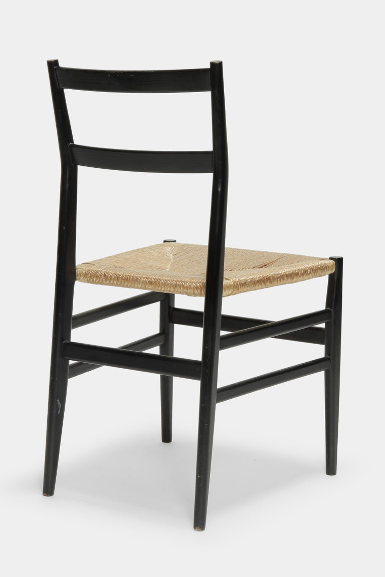 Italian Gio Ponti Leggera Chair Cassina, 1960s For Sale