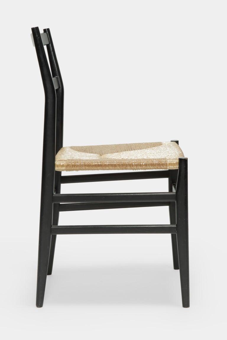 Gio Ponti Leggera Chair Cassina, 1960s In Good Condition For Sale In Basel, CH