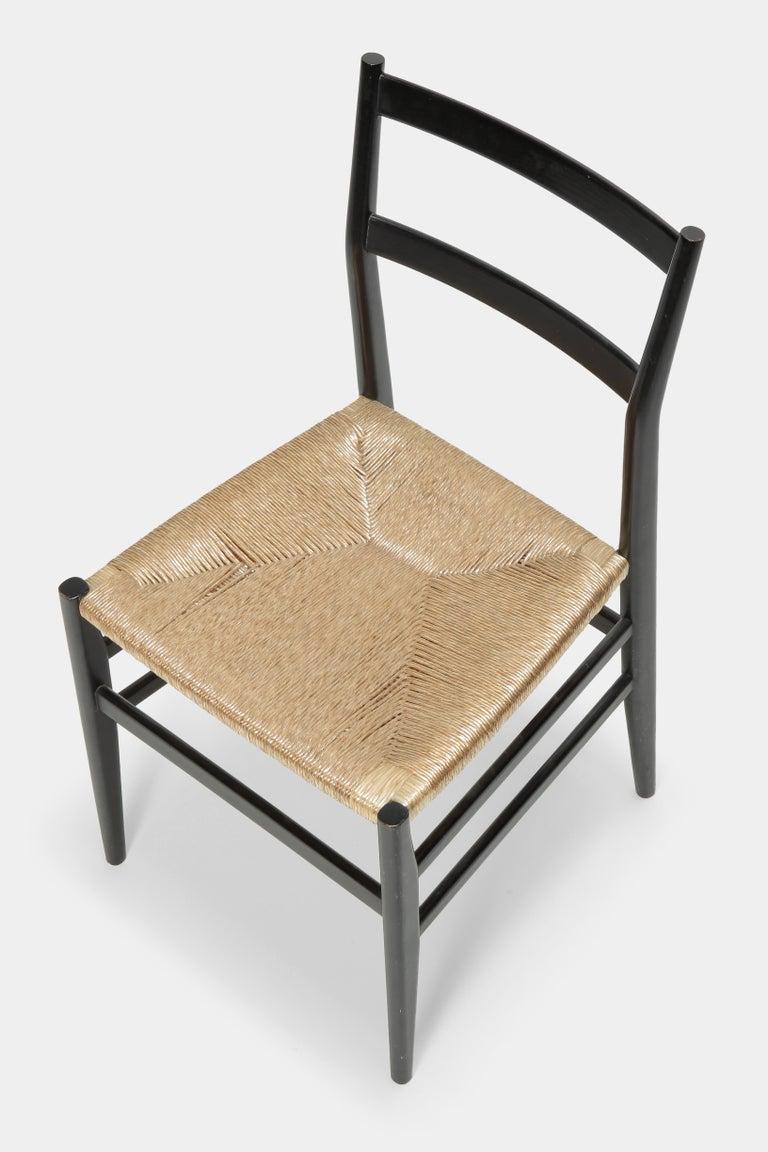 Gio Ponti Leggera Chair Cassina, 1960s For Sale 1