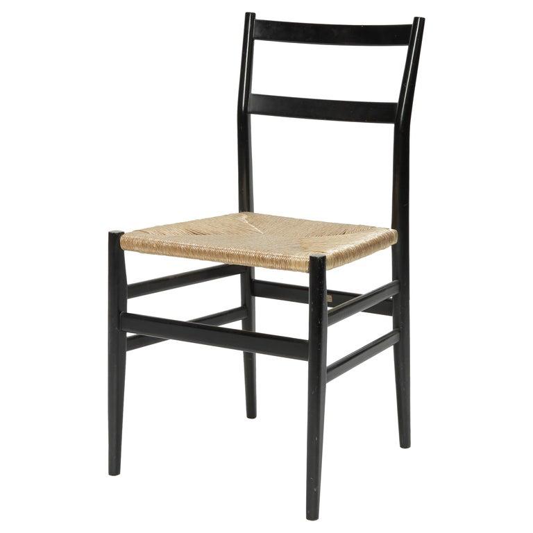 Gio Ponti Leggera Chair Cassina, 1960s For Sale