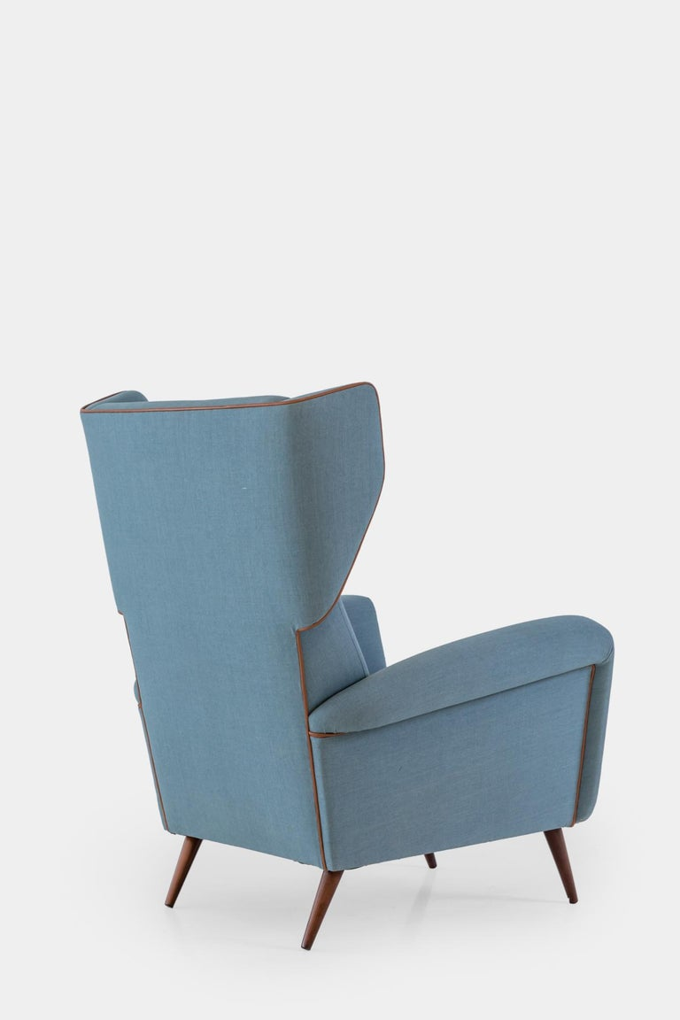 Mid-Century Modern Gio Ponti Wingback or Lounge Chair For Sale