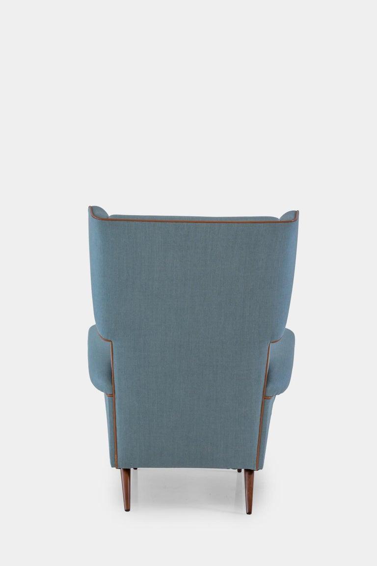 Italian Gio Ponti Wingback or Lounge Chair For Sale