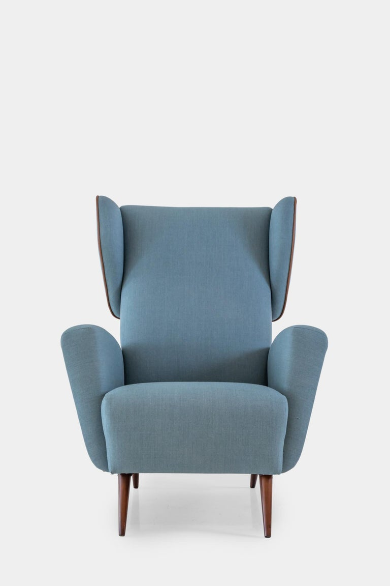 Gio Ponti Wingback or Lounge Chair In Good Condition For Sale In New York, NY