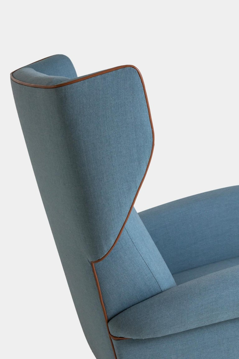 Mid-20th Century Gio Ponti Wingback or Lounge Chair For Sale